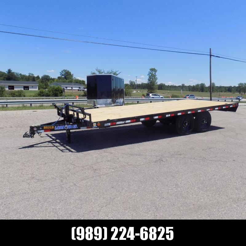 """New Load Trail 102"""" x 20' Deckover Equipment Trailer For Sale - $0 Down & Payments from $133/Mo W.A.C"""