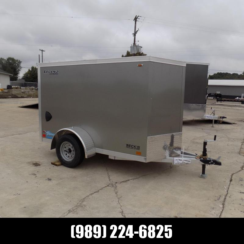 New Legend Thunder 5' x 9' Aluminum Enclosed Cargo Trailer for Sale- $0 Down Payments From $105/Mo W.A.C.