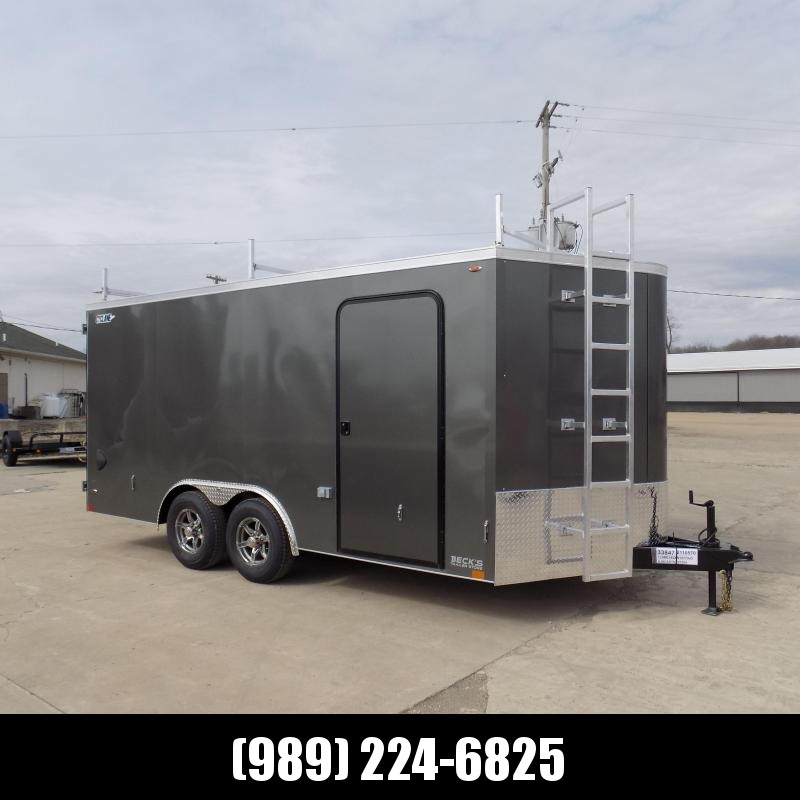 New Legend Trailers Legend Cyclone 8.5' x 18' Enclosed Car Hauler / Cargo Trailer for Sale - $0 Down Payments From $119/mo W.A.C.
