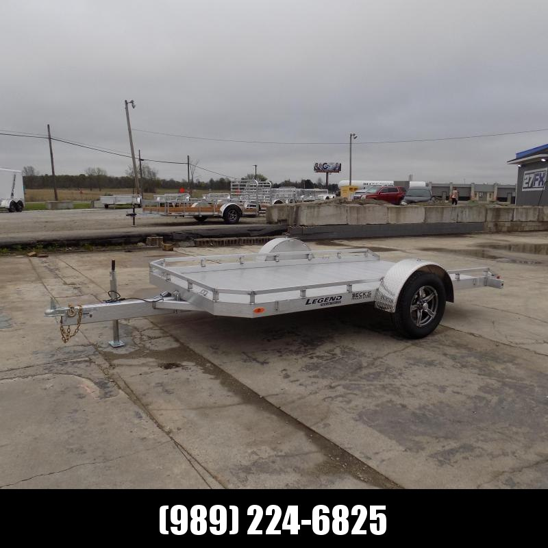 New Legend 7' X 12' Tilt Deck Utility Trailer - Perfect for UTVS-ATVs-Golf Carts-Mowers & More - $0 Down & Payment From $103/mo. W.A.C.