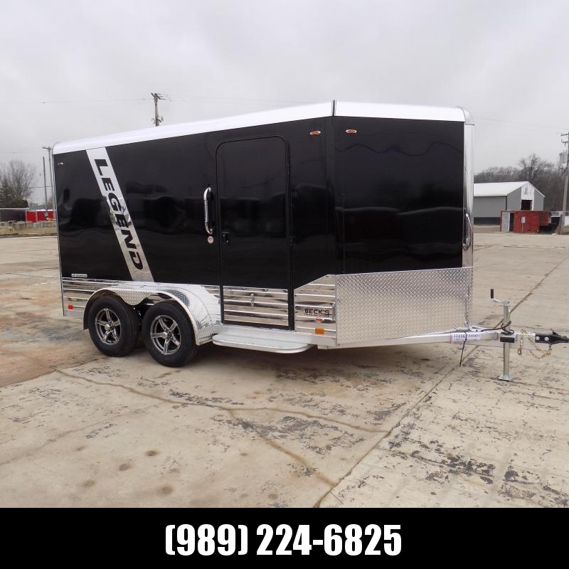 New Legend Deluxe V Nose 7' X 15' All Aluminum Cargo Trailer For Sale - $0 Down & Payments from $129/mo. W.A.C.