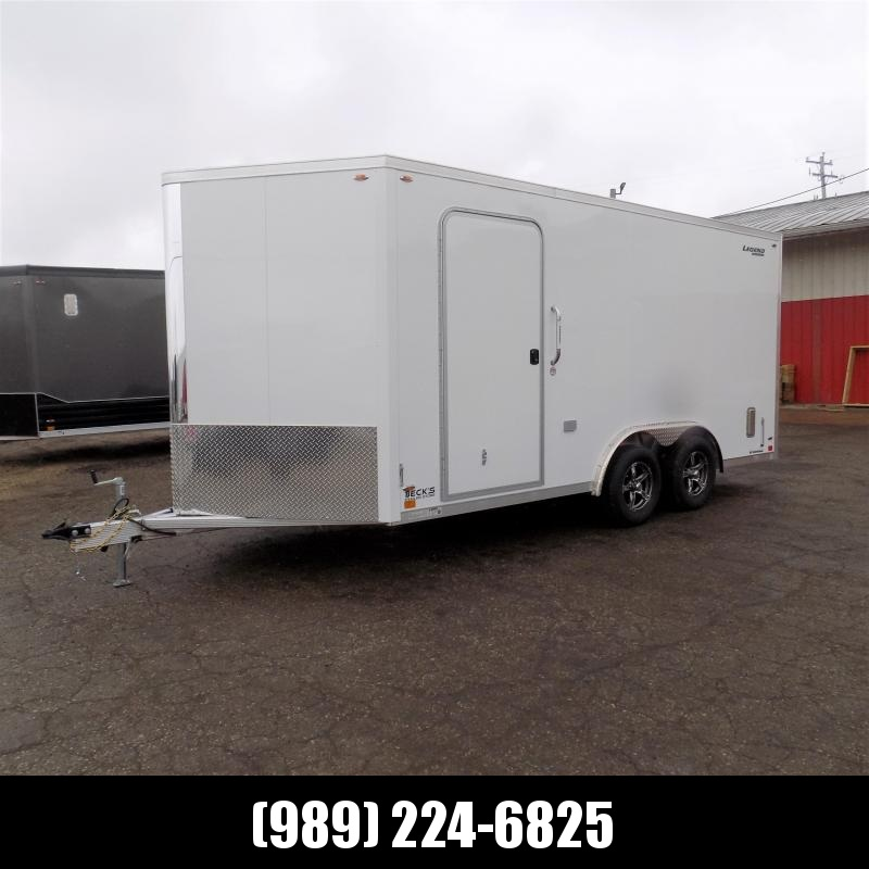 New Legend FTV 8' x 19' Heavy Duty Aluminum Contractor Trailer - Professional Grade 8' Wide Trailer - $0 Down Financing Available