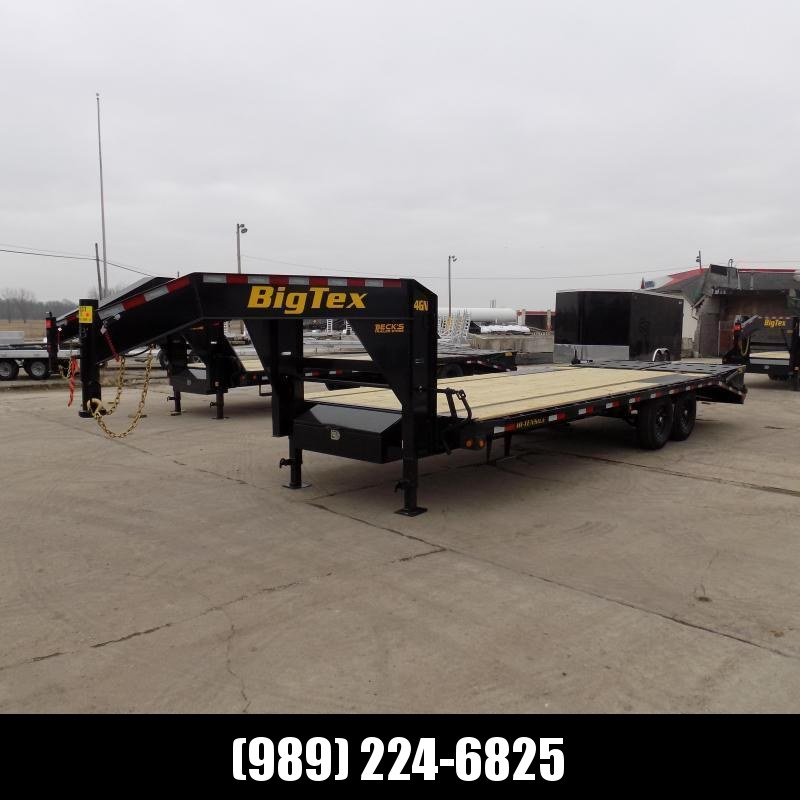 """New Big Tex Trailers 102"""" x 20'+5' Gooseneck Trailer With Mega Ramps - $0 Down & $149/mo. W.A.C."""
