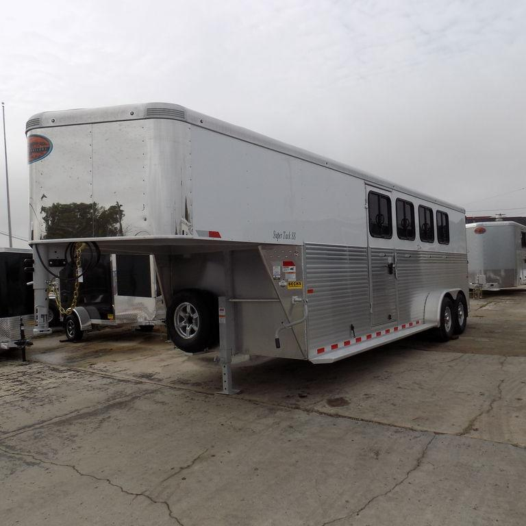 New Sundowner Super Sport Gooseneck 4 Horse Slant Load Trailer - Payments from $239/mo. With $0 Down W.A.C.