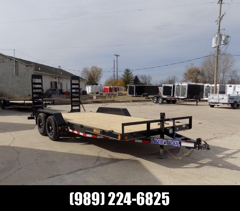 "New Load Trailer 83"" x 18' Car Hauler Trailer For Sale - $0 Down & Payments from $109/mo. W.A.C."