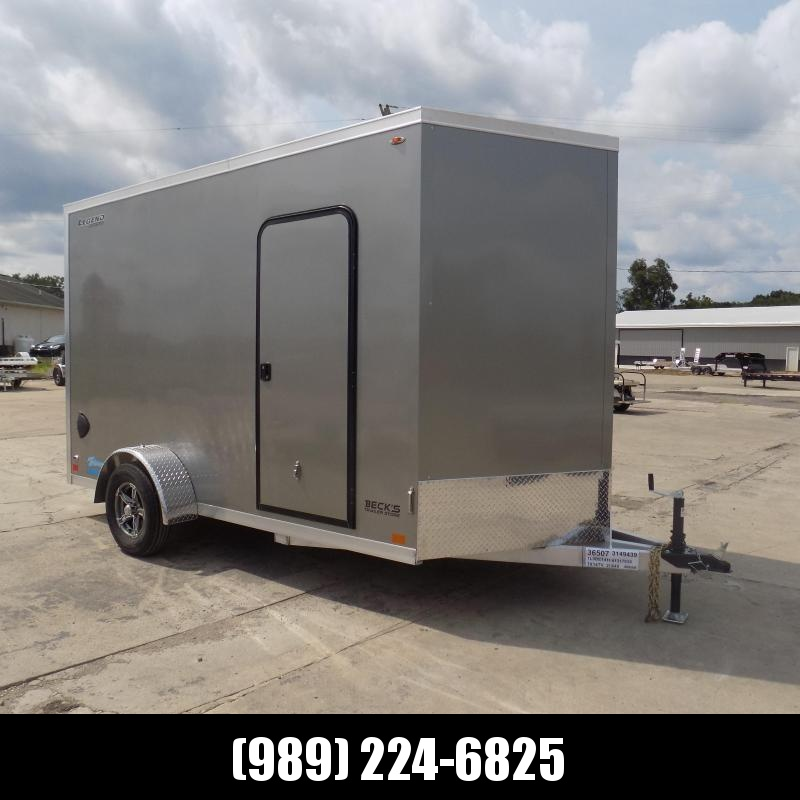 New Legend Thunder 7' x 14' Aluminum Enclosed Cargo Trailer for Sale- $0 Down & Payments From $121/mo. W.A.C.