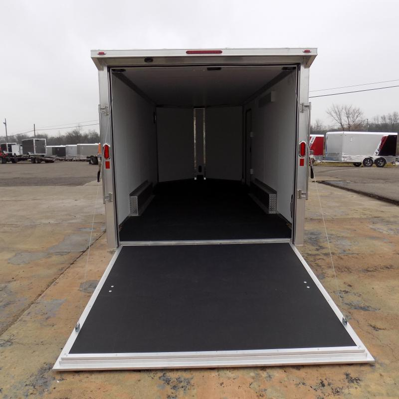 New Legend FTV 8' x 21' Heavy Duty Aluminum Cargo Trailer - $0 Down Financing Available - MUST SEE!