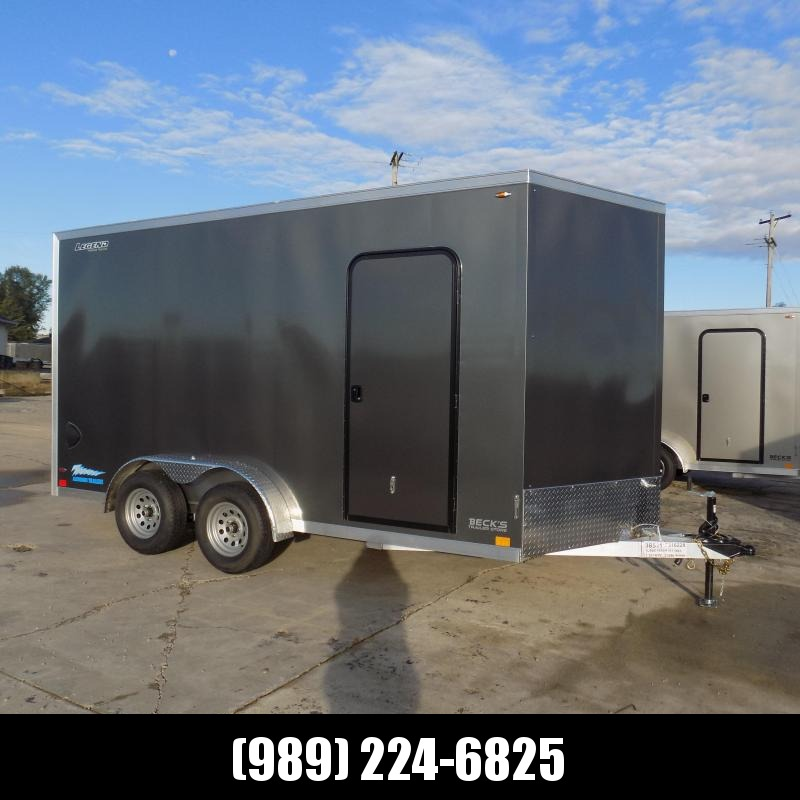 New Legend Thunder 7.5' x 16' Aluminum Enclosed Cargo Trailer for Sale- $0 Down With Flexible Financing Available
