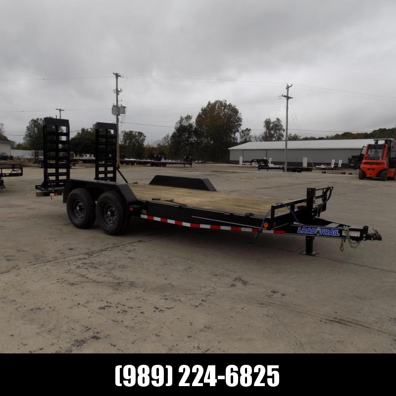"""New Load Trailer 83"""" x 18' Open Car Hauler/Equipment Trailer With 7K Axles - $0 Down & Payments from $125/mo. W.A.C."""