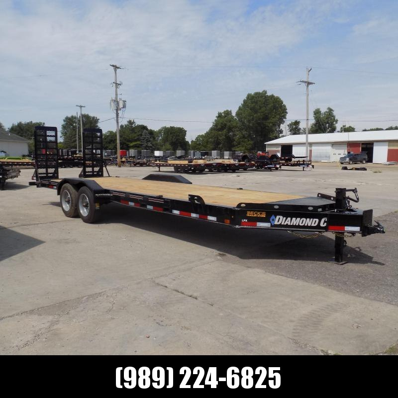 "New Diamond C Trailers 82"" x 24' Heavy Duty Equipment Trailer - 10K Axles - $0 Down & Payments from $144/mo. W.A.C."