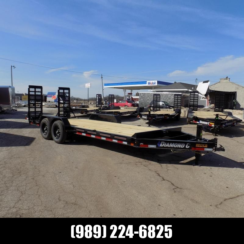 New Diamond C Trailers 7' x 20' Heavy Duty Equipment Trailer - $0 Down & Payments from $129/mo. W.A.C.