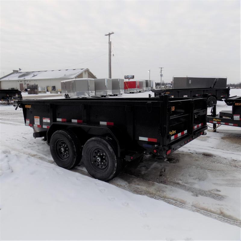 New Big Tex Trailers 7' x 12' Low Pro Dump Trailer For Sale - $0 Down & Payments from $119/mo. W.A.C.