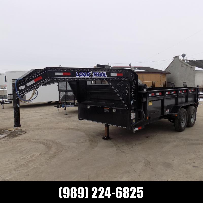 """New Load Trail 83"""" X 14' Gooseneck Dump Trailer For Sale- $0 Down Payments From $113/mo W.A.C."""