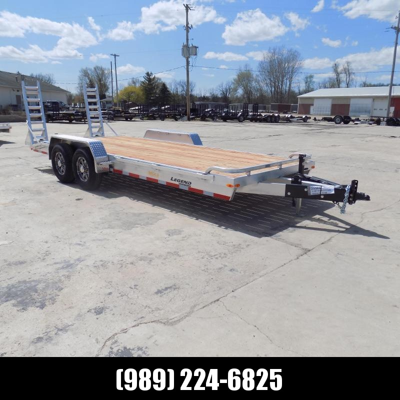 New Legend 7' x 20' Aluminum Equipment Trailer With Nearly 12K Payload Capacity - $0 Down & Payments from $135/mo. W.A.C.