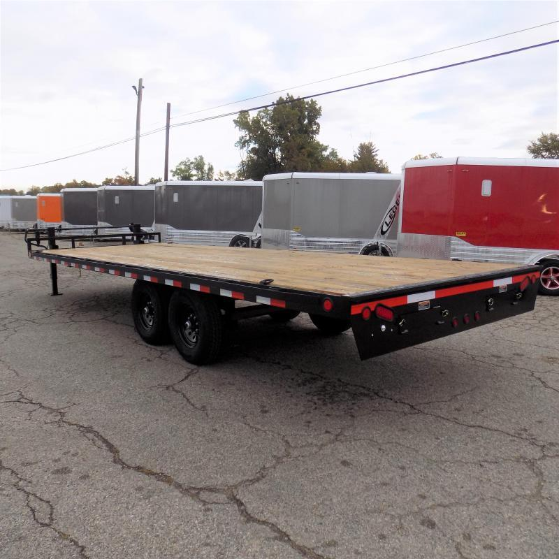 """New Load Trail DK14 102"""" x 24' Deckover Trailer for Sale - $0 Down & Payments From $115/mo. W.A.C."""