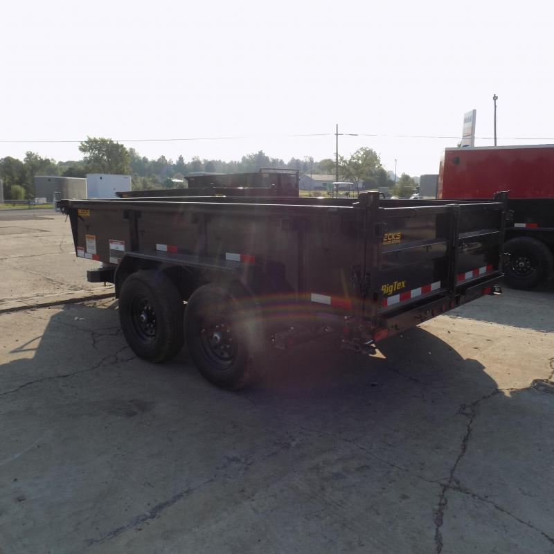 """New Big Tex 83"""" x 12' Low Profile Dump Trailer - $0 Down & Payments From $147/mo. W.A.C."""