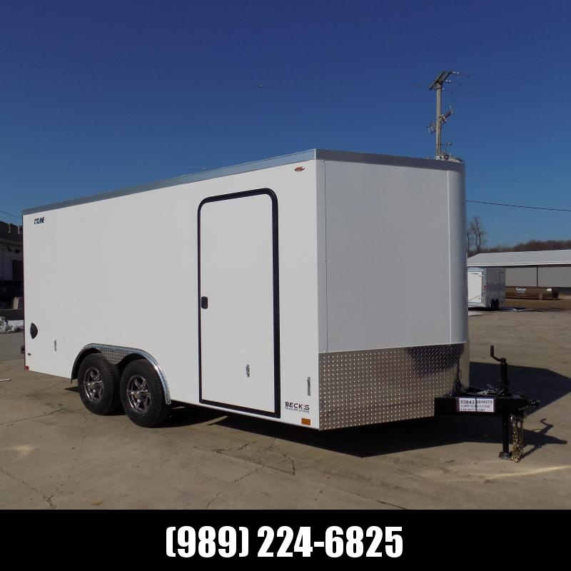 New Legend Trailers Legend Cyclone 8.5' x 18' Enclosed Car Hauler / Cargo Trailer for Sale - $0 Down Payments From $109/mo W.A.C.