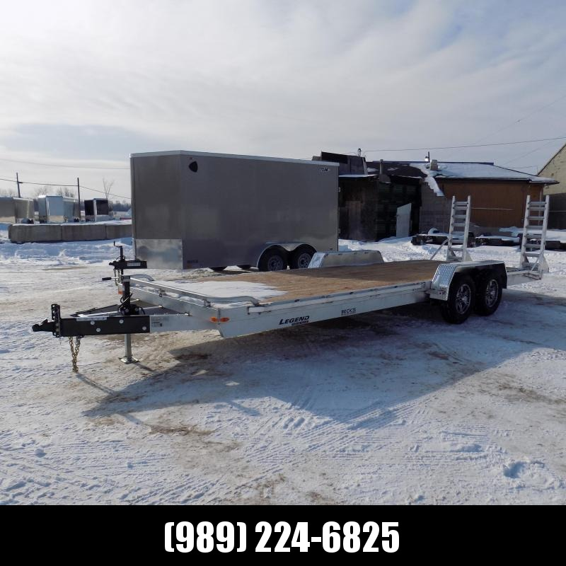 New Legend 7' x 24' Aluminum Equipment Trailer For Sale - $0 Down & Payments from $131/mo. W.A.C