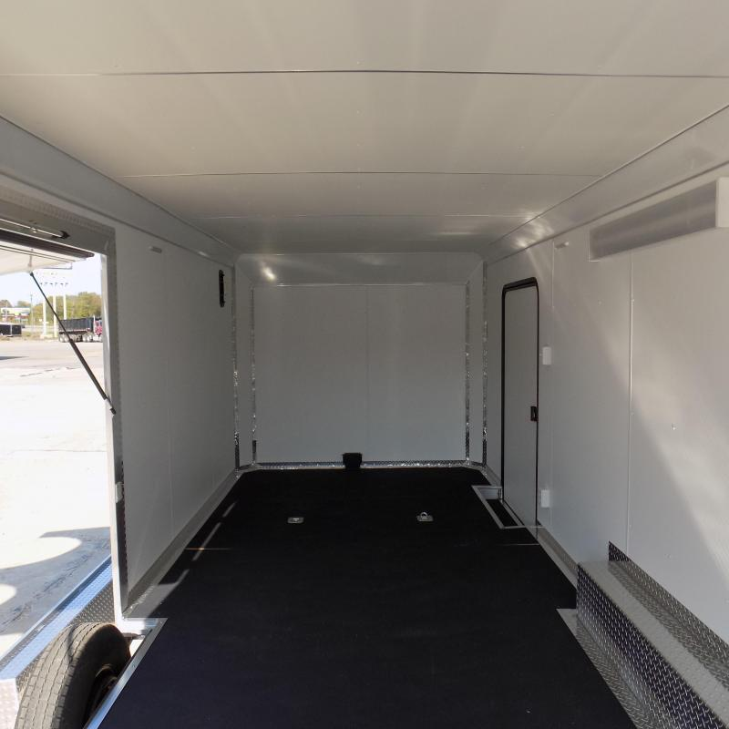 New Legend Trailmaster 8.5' x 24' Aluminum Race Series Trailer w/ Escape Door & 7K Torsion Axles - $0 Down Financing Available