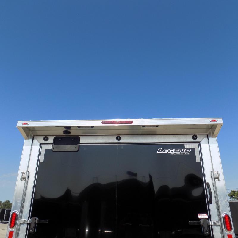 New Legend Trailmaster 8.5' x 24' Aluminum Race Series Trailer w/ Escape Door & 7K Torsion Axles - $0 Down Financing Available