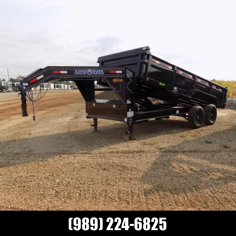 """New Load Trail 83"""" X 16' Gooseneck Dump Trailer For Sale- $0 Down Payments From $139/mo W.A.C."""