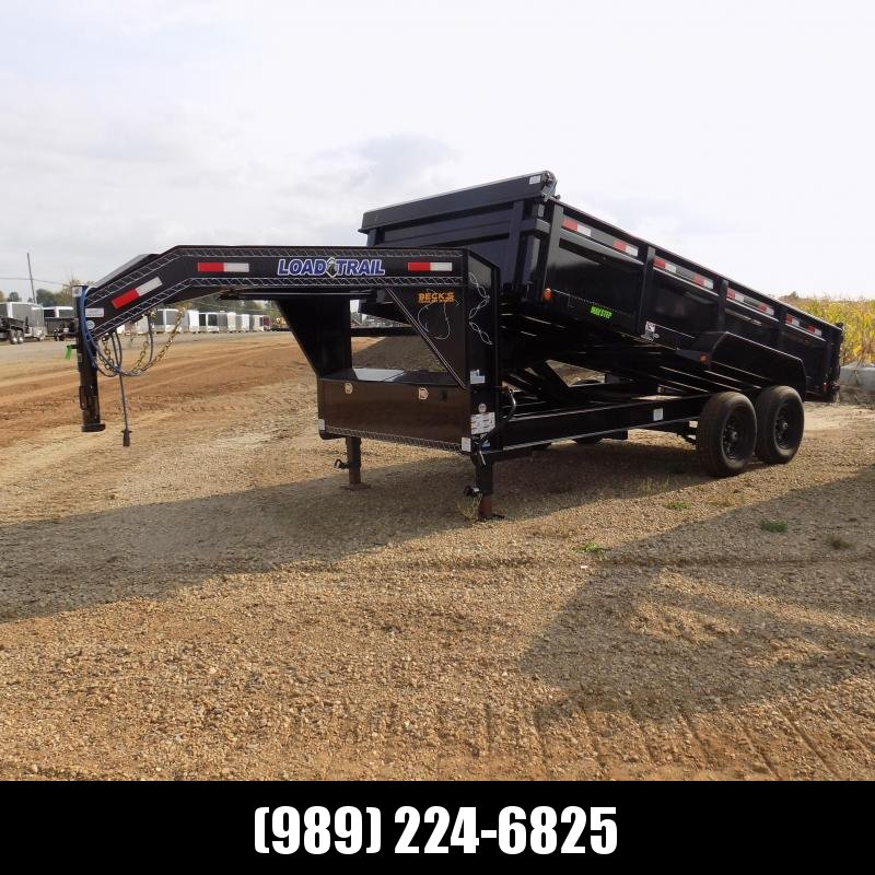 "New Load Trail 83"" X 16' Gooseneck Dump Trailer For Sale- $0 Down Payments From $139/mo W.A.C."