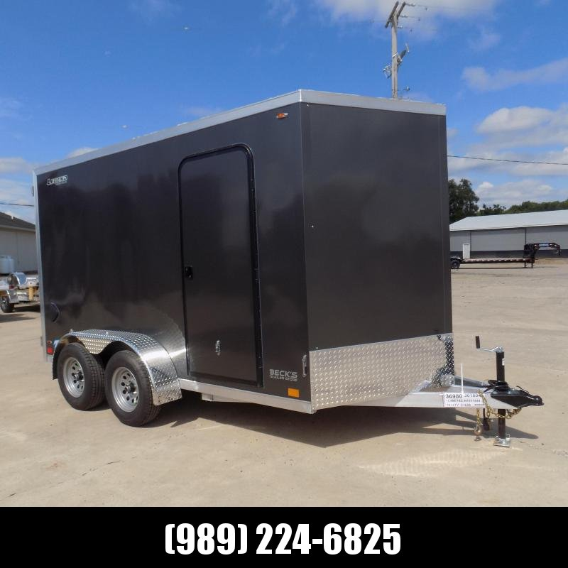 New Legend Thunder 7' x 14' Aluminum Enclosed Cargo Trailer for Sale- $0 Down Payments From $141/Mo W.A.C.