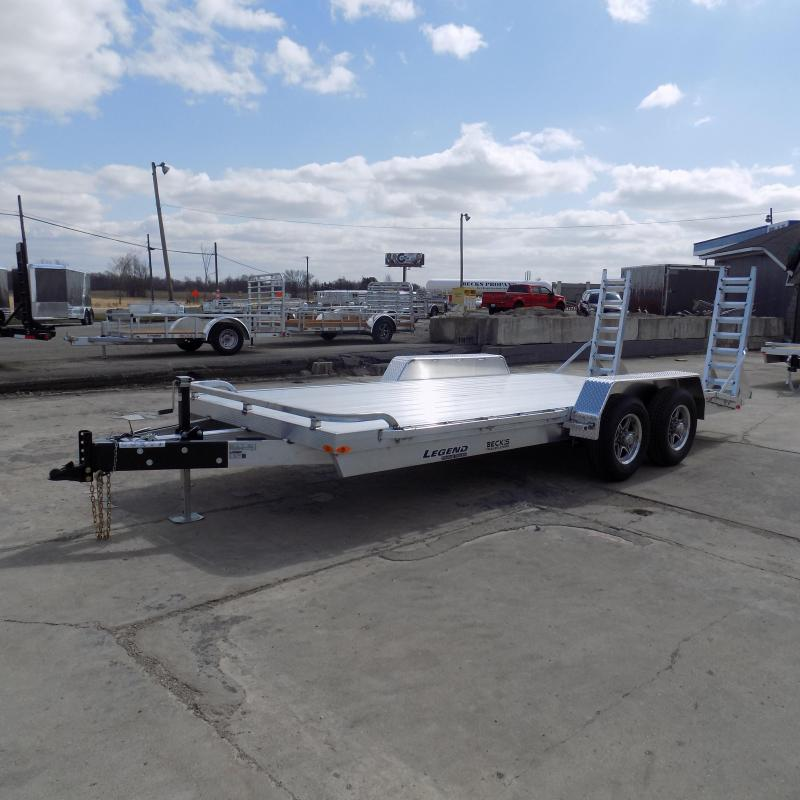 New Legend 7' x 18' Aluminum Equipment Trailer For Sale - $0 Down & Payments from $115/mo. W.A.C