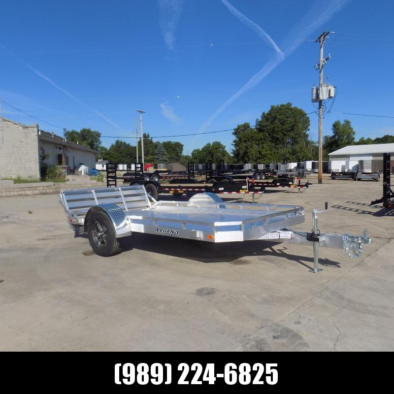 New Legend 7' x 12' Aluminum Open Utility Trailer - Pefect For UTVs - Lawn Mowers - Golf Carts & More! $0 Down & Payments From $89/mo. W.A.C.