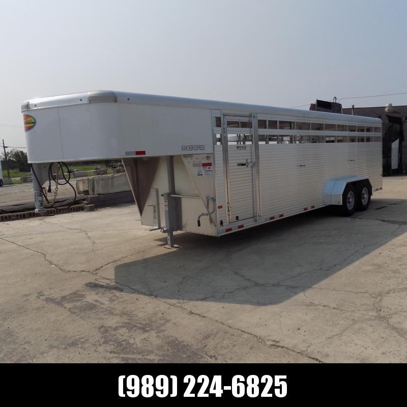 New Sundowner Rancher Express Gooseneck Trailer For Sale - $0 Down With Financing Available