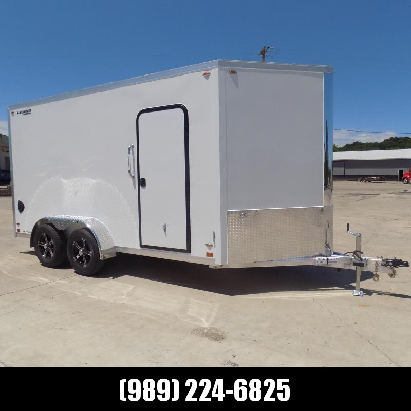 New Legend FTV 7' x 17' Aluminum Enclosed Cargo Trailer - Best Built Cargo Trailer - $0 Down & Payments From $137/mo. W.A.C.