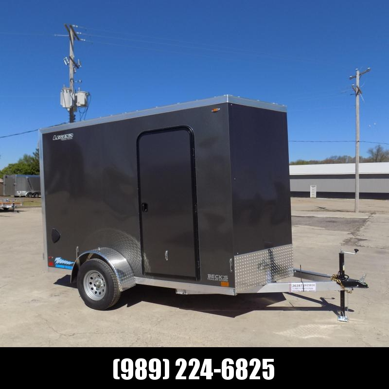 New Legend Thunder 6' x 11' Aluminum Enclosed Cargo Trailer for Sale- $0 Down Payments From $125/Mo W.A.C.