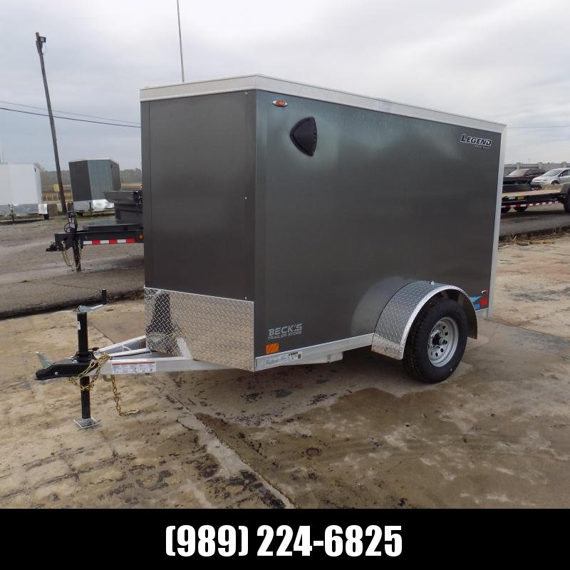 New Legend Thunder 5' x 9' Aluminum Enclosed Cargo Trailer for Sale- $0 Down Payments From $83/Mo W.A.C.