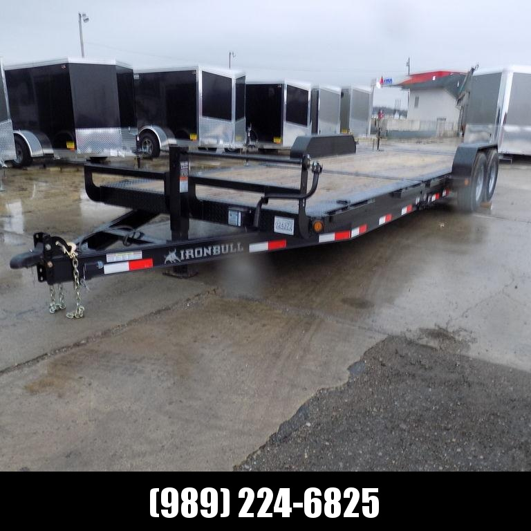 New Iron Bull TLB16 24' Tilt Deck Trailer with 8K Axle Upgrade - CLEARANCE