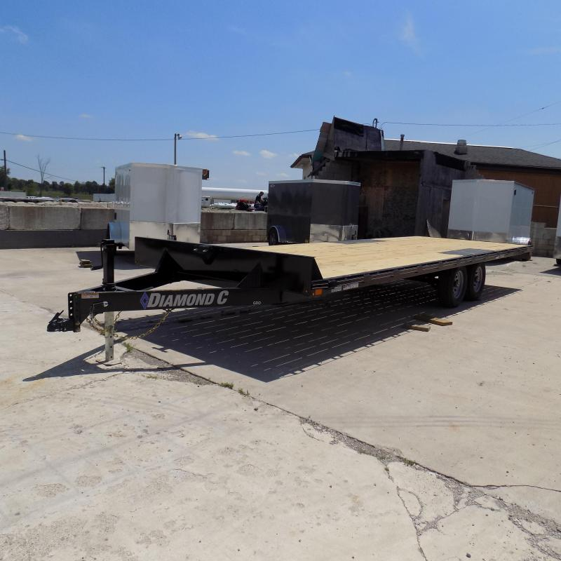"Diamond C Trailers 102"" x 24' Deckover Equipment Trailer For Sale"
