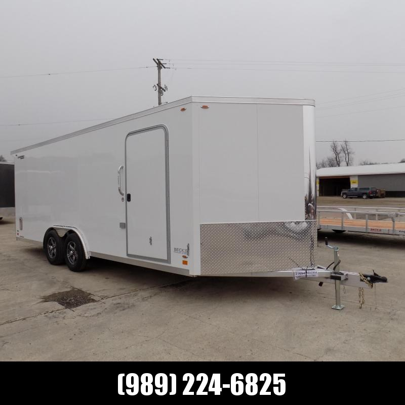 New Legend FTV 8' x 23' Aluminum Cargo Trailer - Extra Height - LOADED! $0 Down Financing Available