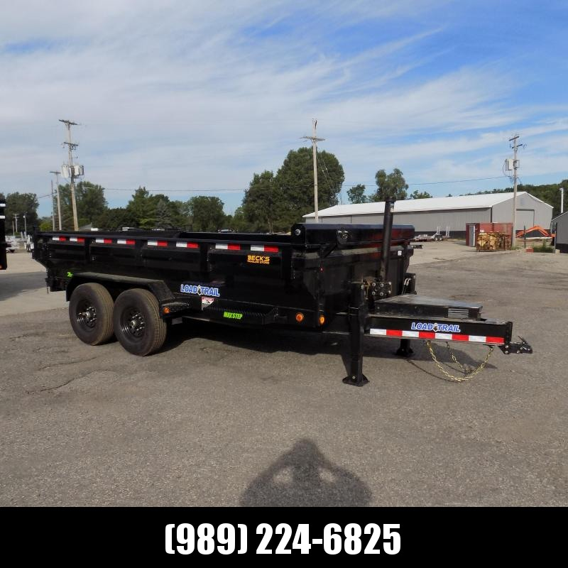 """New Load Trail 83"""" x 14' Dump Trailer for Sale - Flare Sides - $0 Down & Flexible Financing Available"""