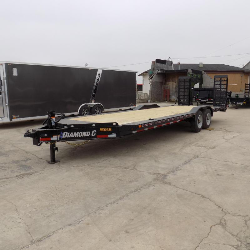"New Diamond C Trailers 82"" x 24' Heavy Duty Equipment Trailer - 10K Axles - $0 Down & Payments from $159/mo. W.A.C."