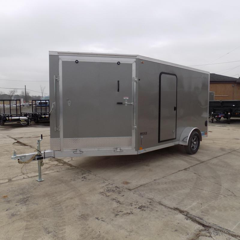 New Legend Thunder 7' x 17' Aluminum Snowmobile Trailer - $0 Down & Payments From $109/mo. W.A.C. - Best Deal Guarantee