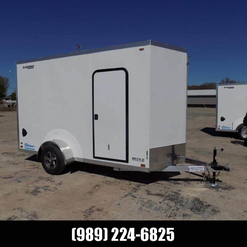 New Legend Thunder 6' x 13' Aluminum Enclosed Cargo Trailer for Sale- $0 Down Payments From $113/Mo W.A.C.