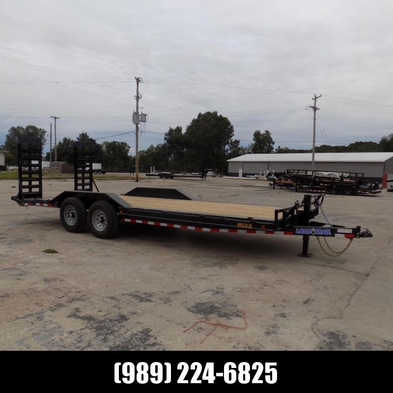 """New Load Trailer 102"""" x 22' Open Car Hauler/Equipment Trailer With 7K Axles - $0 Down & Payments from $141/mo. W.A.C."""