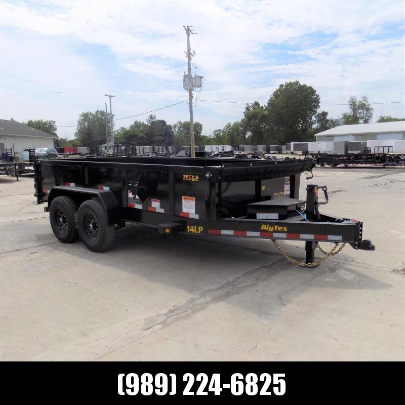 New Big Tex Trailers 7' x 14' Low Pro Dump Trailer For Sale - $0 Down & Payments from $133/mo. W.A.C.