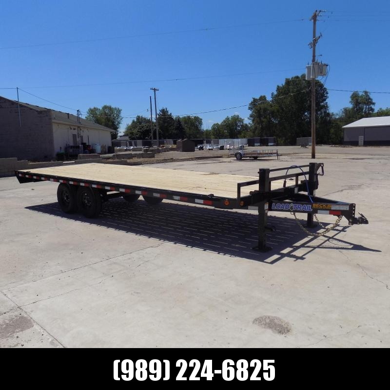 """New Load Trail 102"""" x 24' Deckover Equipment Trailer For Sale - $0 Down & Payments from $133/Mo W.A.C"""