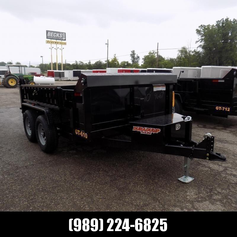 New DuraDump 6' x 10' Dump Trailer For Sale - Only $99/mo. & $0 Down Payment W.A.C. - BACK IN-STOCK SOON