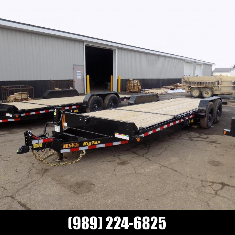 """New Big Tex 80"""" x 22' Tilt Deck Equipment Trailer For Sale - $0 Down & Payments From $119/mo. W.A.C."""