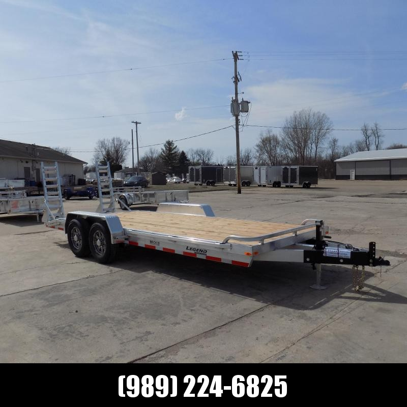 New Legend 7' x 20' Aluminum Equipment Trailer For Sale - $0 Down & Payments from $115/mo. W.A.C