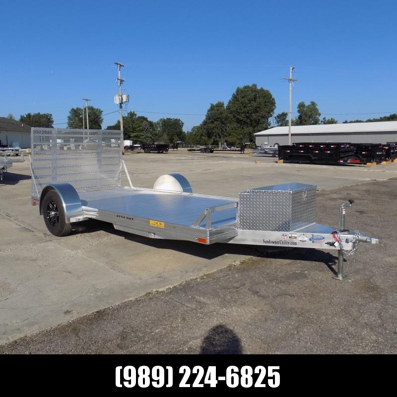 """New Sundowner Trailer 81"""" X 14' Utility Trailer For Sale - $0 Down with $105/mo Payments W.A.C"""