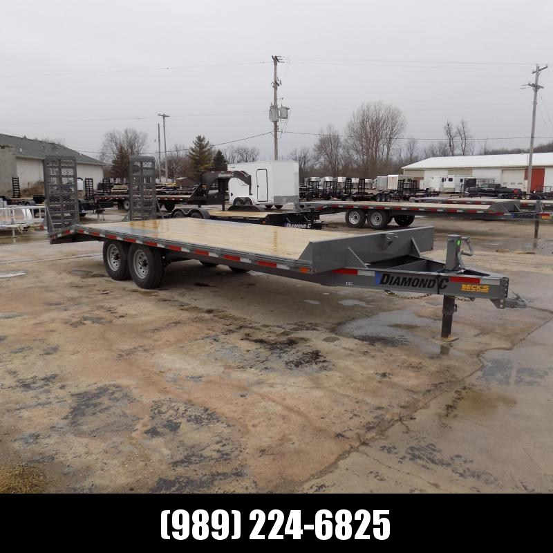 """New Diamond C Trailers 102"""" x 22' Deckover Equipment Trailer For Sale - $0 Down & Payments From $117/mo. W.A.C."""