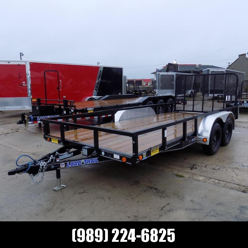 "New Load Trail UT 83"" x 16' Open Utility Trailer for Sale - Best Deal Guarantee"