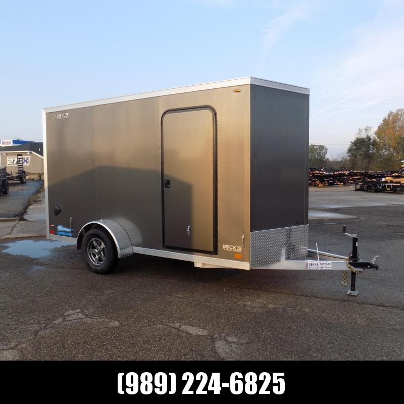 New Legend Thunder 6' x 13' Aluminum Enclosed Cargo Trailer for Sale- $0 Down Payments From $125/Mo W.A.C.